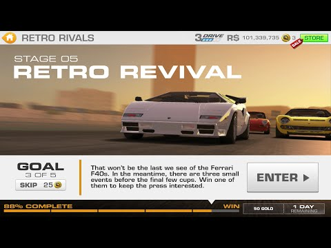 real racing 3 lamborghini countach gameplay new repla. Black Bedroom Furniture Sets. Home Design Ideas