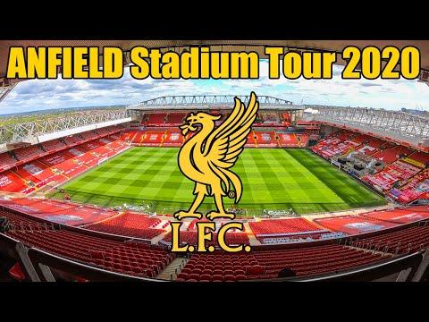 Liverpool FC, Anfield Stadium Tour - Premier League Champions 2020