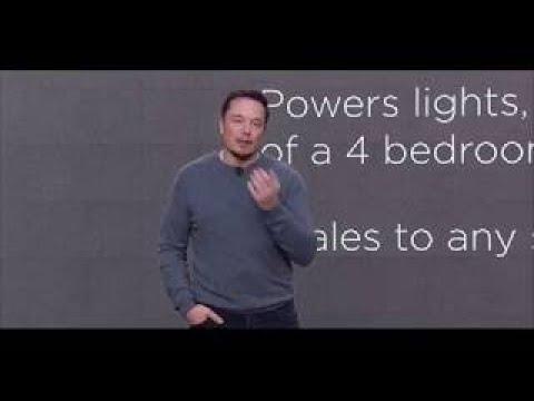 Elon Musks Tesla Unveils Powerwall 2 vesves Solar Roof