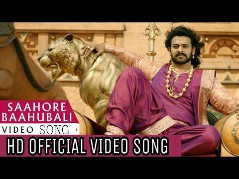 Saahore Baahubali 2 Full Video Song - Baahubali 2 Songs Prabhas,Ss Rajamouli.