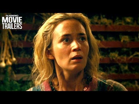 A Quiet Place (2018) | Silence is survival in the first trailer for thriller en streaming