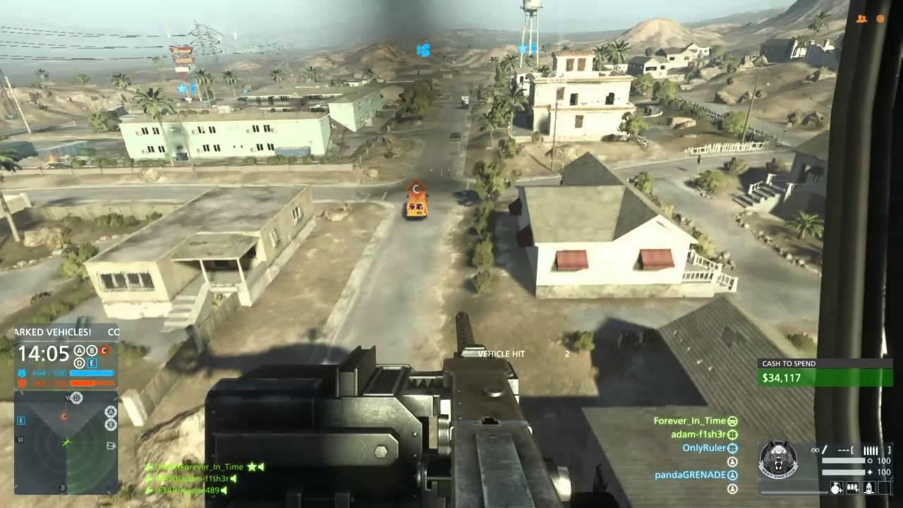 Battlefield™ Hardline .50 Cal. Door Gunner (19-0) & Battlefield™ Hardline .50 Cal. Door Gunner (19-0) - YouTube