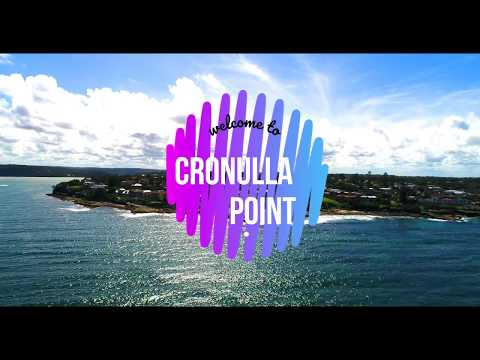 Cronulla Point View By Drone 4k Footage