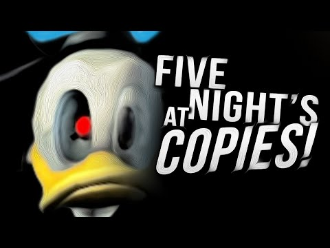 FIVE NIGHTS AT FREDDY'S COPIES!