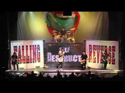 Falling In Reverse Self-Destruct Personality Live at The Regency Ballroom HD SF