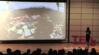 Connecting the drones: Paola Santana at TEDxSantoDomingo