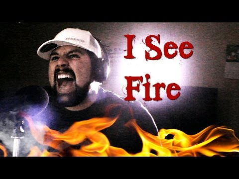 Ed Sheeran - I See Fire (Vocal Cover by Caleb Hyles)
