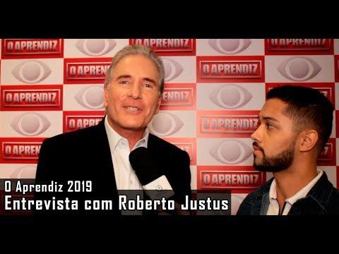 O Aprendiz 2019 - Entrevista com Roberto Justus