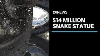 Massive $14 million snake sculpture announced for National Gallery 40th anniversary   ABC News