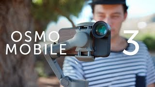 DJI Osmo Mobile 3 With Moment Lenses!
