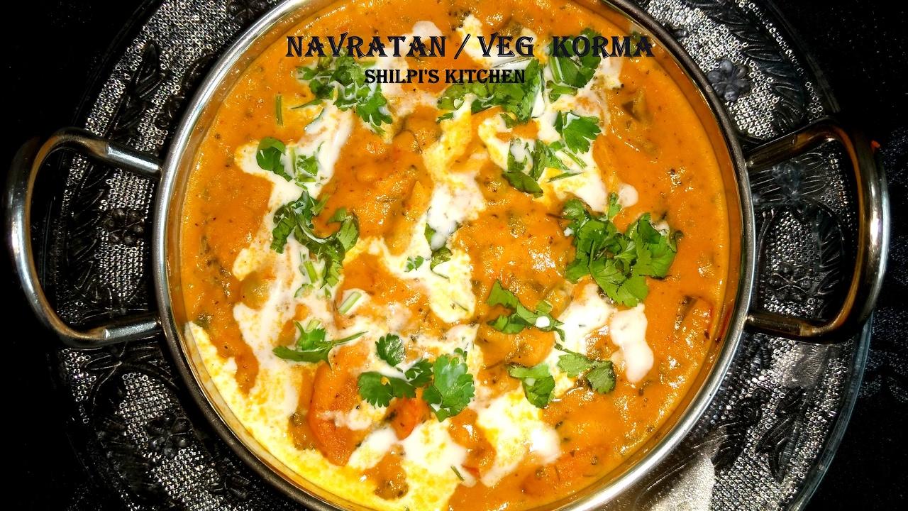Navratan Korma  Vegetable Korma  Veg Handy in Restaurant ...