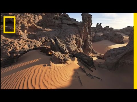 Unseen Sahara: Libya From the Sky | National Geographic