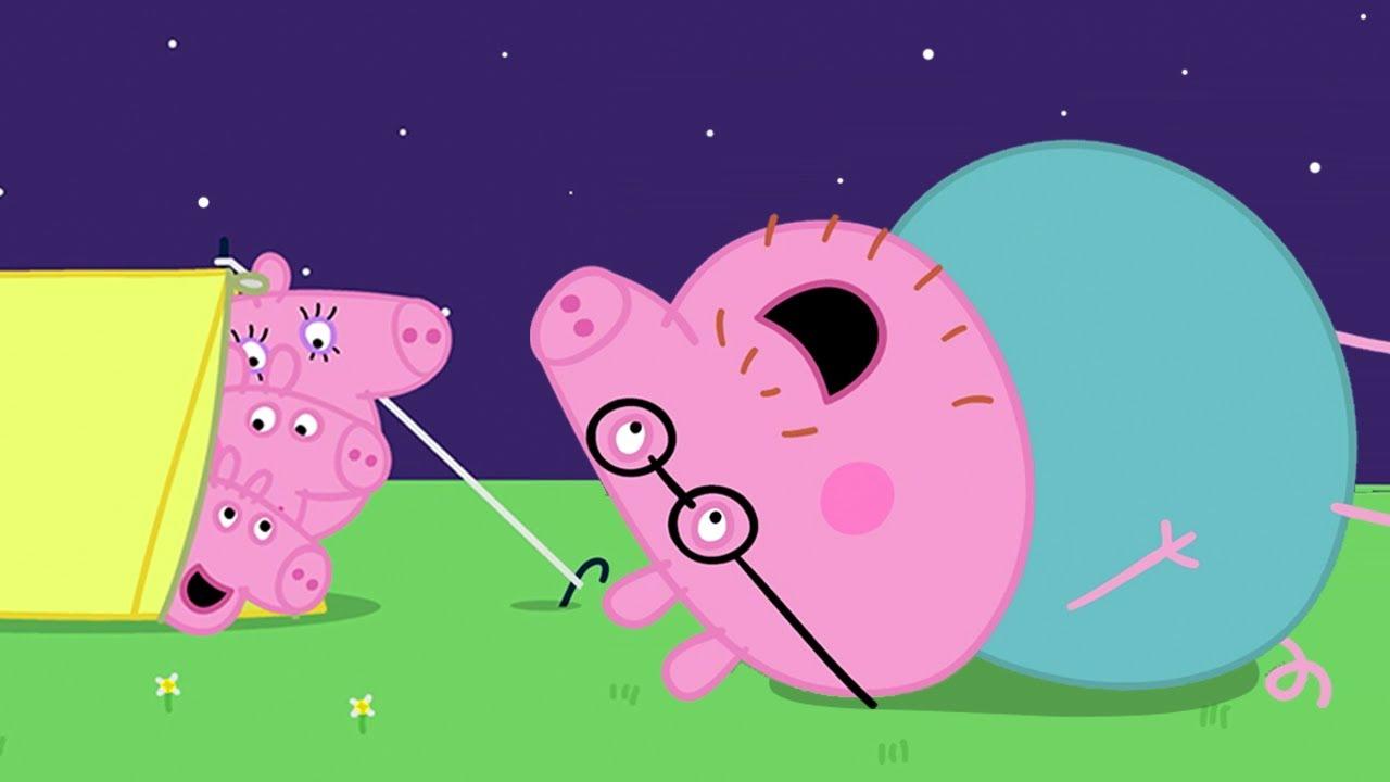 Peppa Pig in Hindi - Camping - Hindi Cartoons for Kids