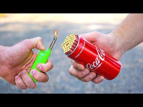 Experiment: Petards vs Coca Cola