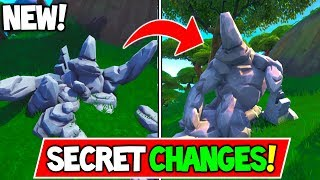 *NEU* Fortnite Update! SECRET MAP ÄNDERUNGEN + NEUE BATTLE ROYALE MAP COMING? + Mehr!!!