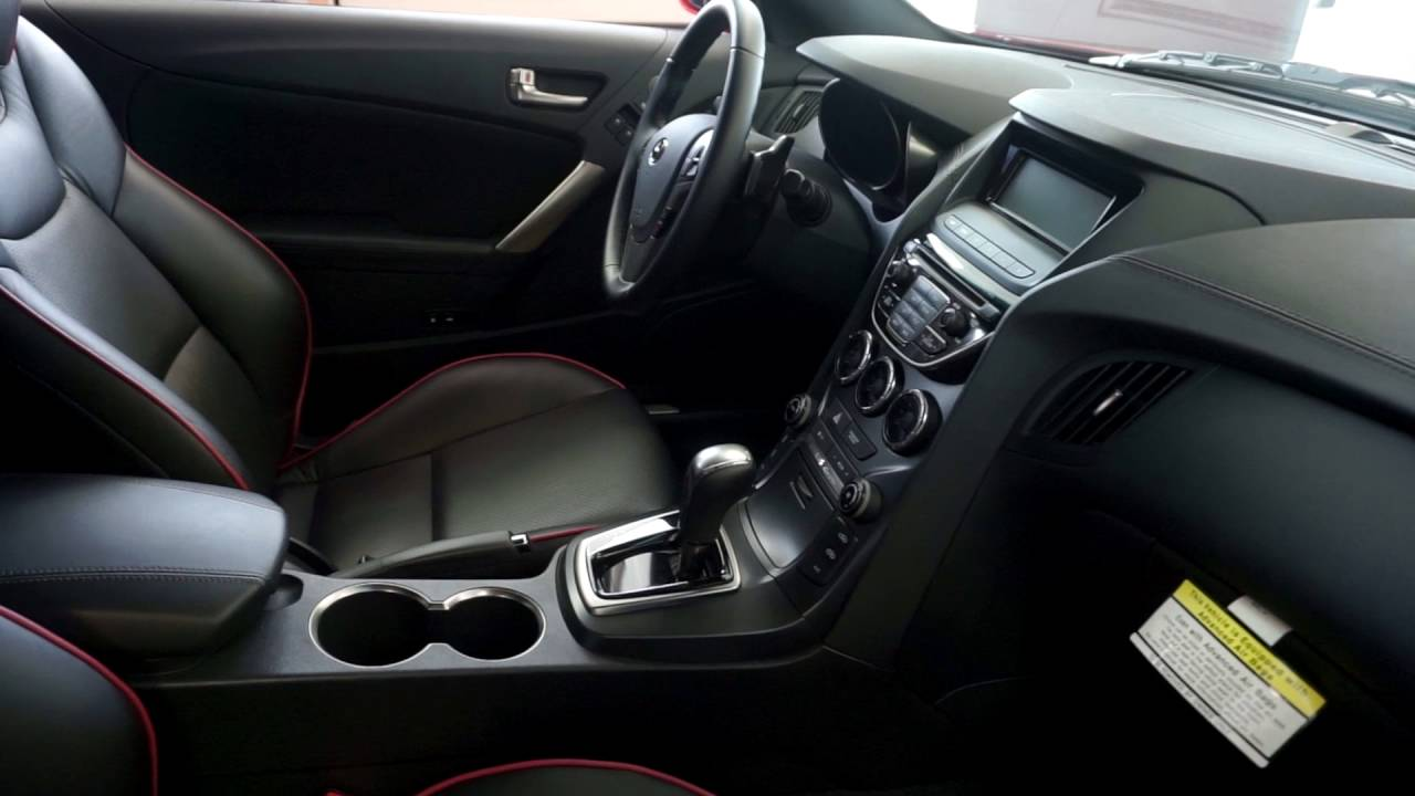 quick look at the interior of a 2016 hyundai genesis coupe youtube. Black Bedroom Furniture Sets. Home Design Ideas