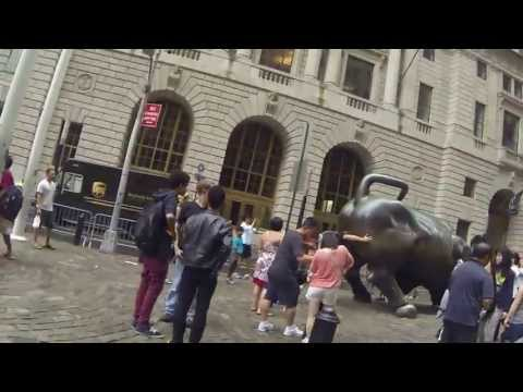 New York Charging Bull / Нью-Йорк