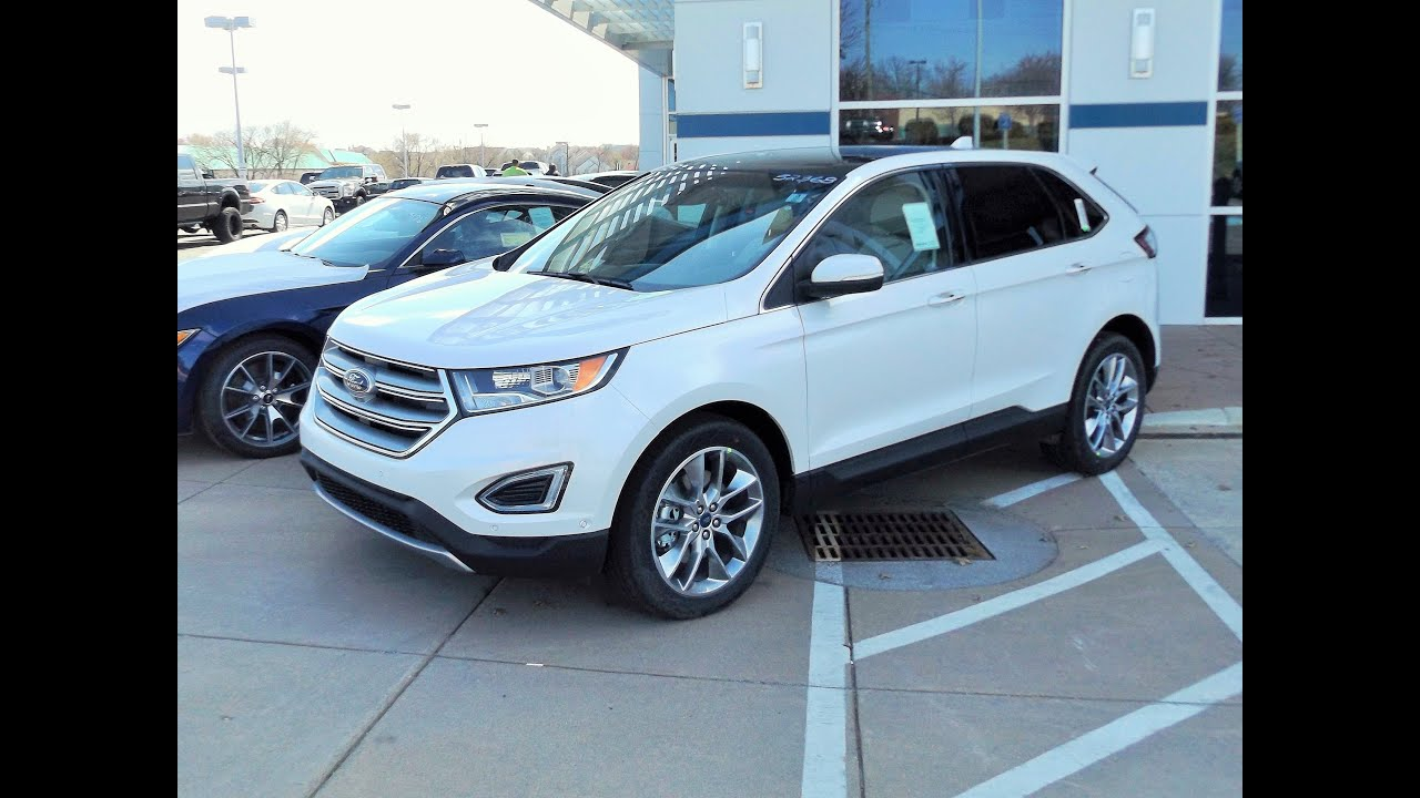chicago elite titanium in debuting ford edge news package