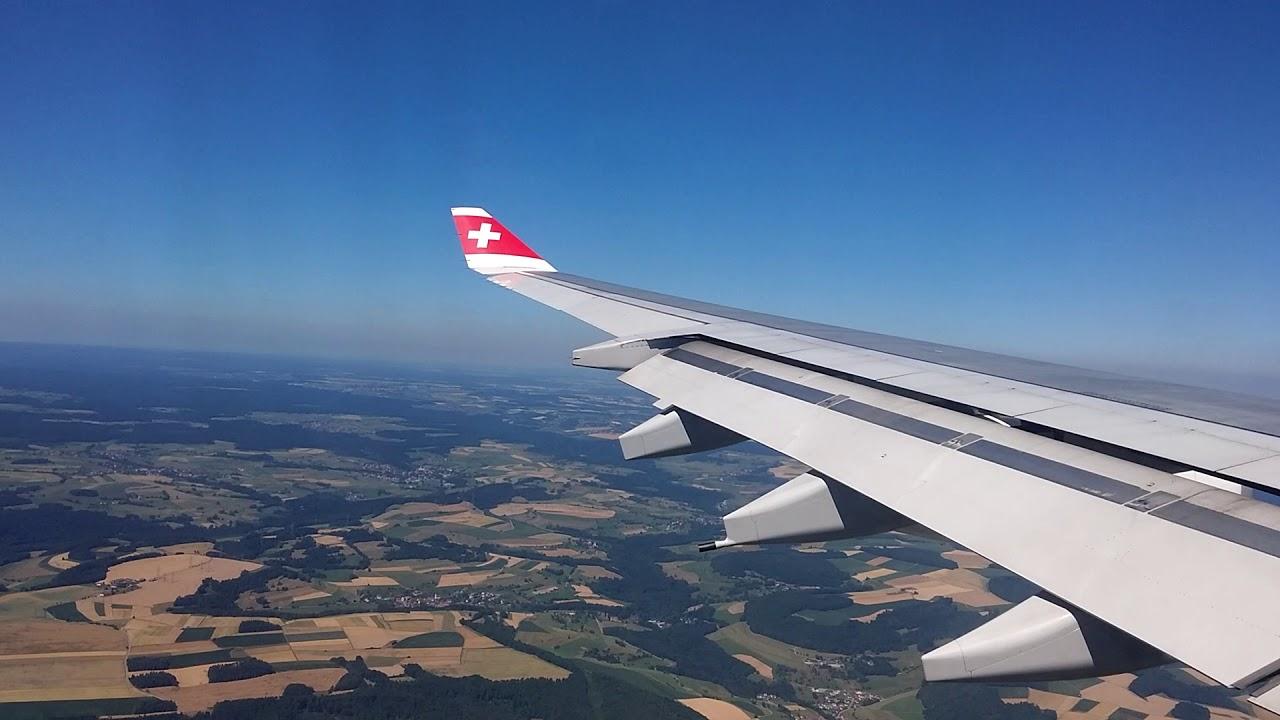 lax to switzerland flight time