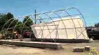 Rhino Shelter 30x40 Heavy Commercial Building Cover Assembly