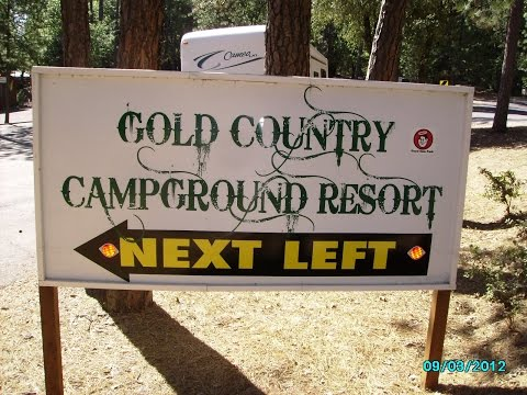 Gold Country Campground & Rv Resort   Pine Grove, Ca    July 2015
