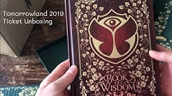 Tomorrowland ticket unboxing 2019