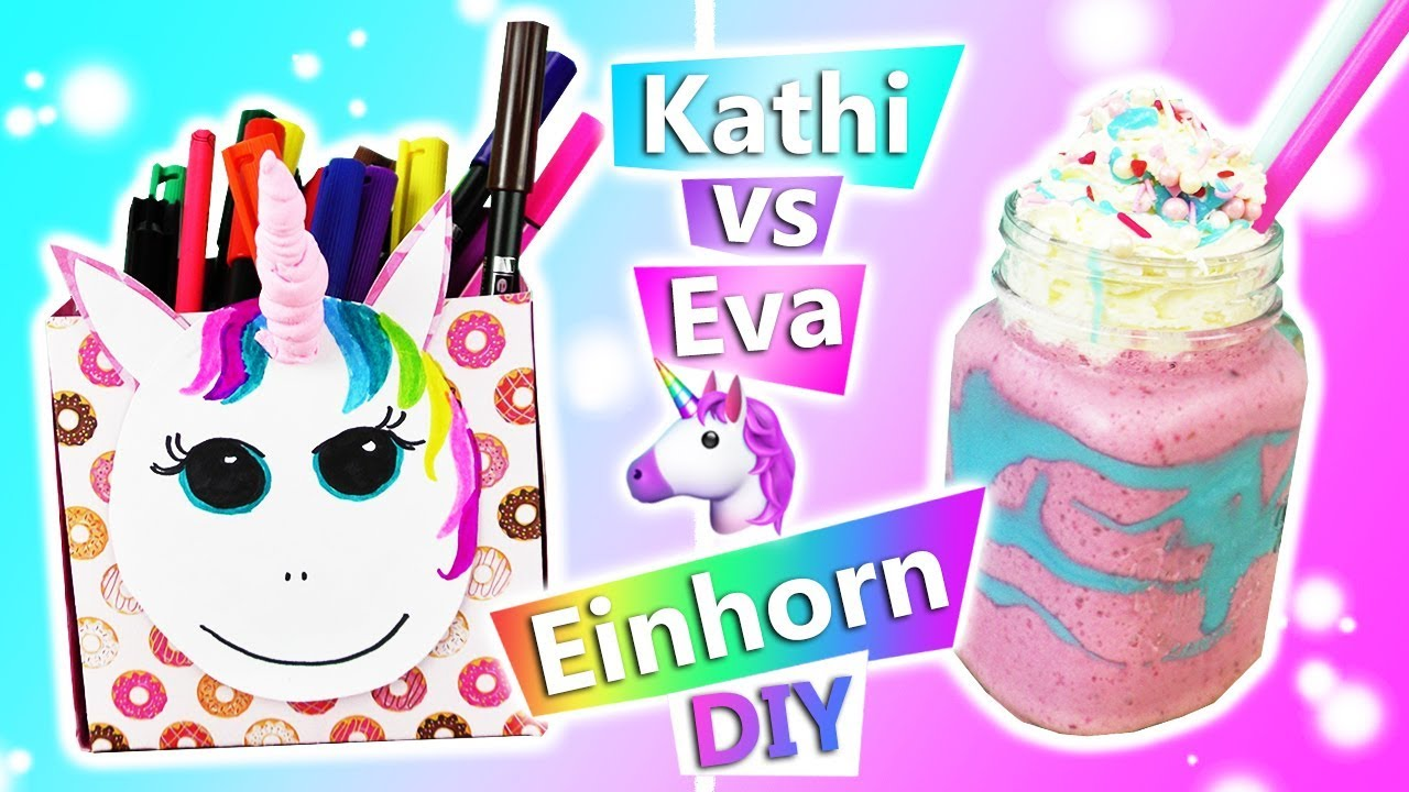 diy inspiration challenge 161 einhorn diy ideen s es regenbogen unicorn zum verschenken. Black Bedroom Furniture Sets. Home Design Ideas