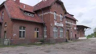 PKP MIKOŁAJKI - nieczynny dworzec w Krainie Wielkich Jezior Mazurskich