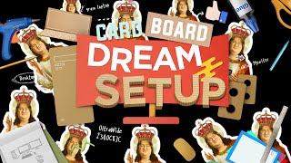 MY DREAM CARD BOARD SETUP! Linus