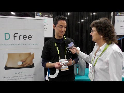 CES 2019: DFree Wearable Incontinence Monitor