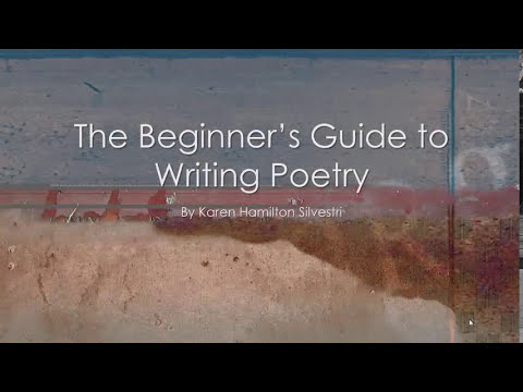 Beginner39s Guide To Writing Poetry Introduction Youtube