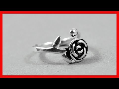 Jewelry Gift | Silver Rose Flowers Open Rings | Wedding Gifts | aliexpress rings