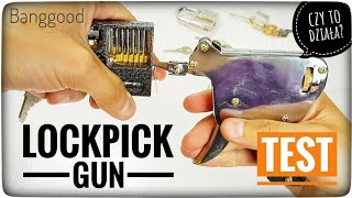 How to Open Locks with a Lockpick Gun? How to use
