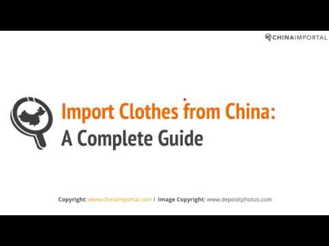 Import Clothes from China: Prices, MOQ, Labeling & More