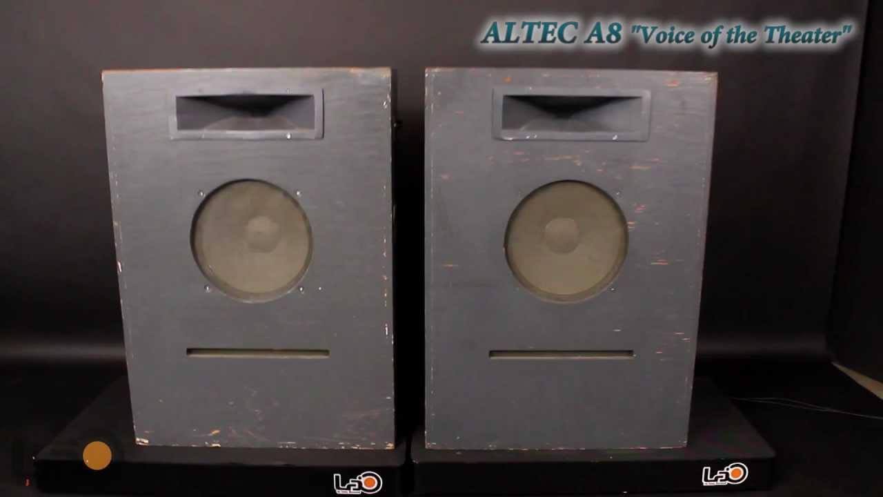 ALTEC A8 Voice of the Theater VOTT Speaker Pair