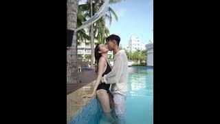 웨딩촬영하는 생생한 모습 720p