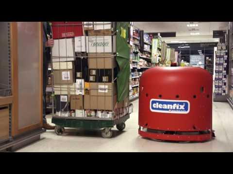 Робот поломойка с навигационной системой NEW RA 660 Navi Cleanfix