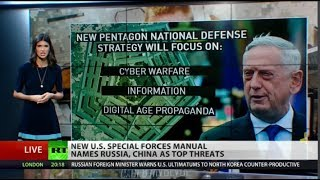 US Special ops getting ready for war with China and Russia