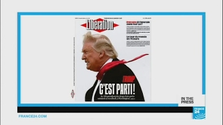 French papers before Trump's inauguration  'Here we go!'