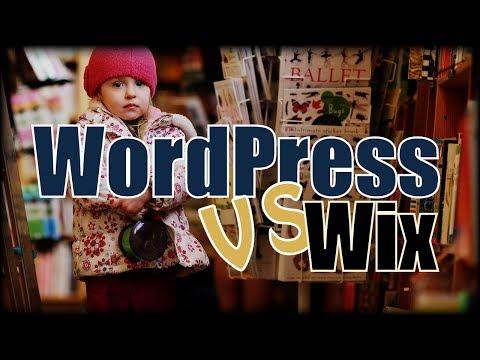 WordPress vs Wix - 2017