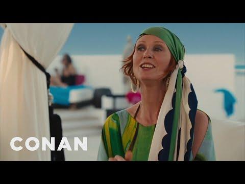Governor Cuomo's Cynthia Nixon Attack Ad  - CONAN on TBS
