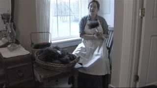 Carding Wool Homesteading for Beginners VOL 4 Episode 1 pt 9