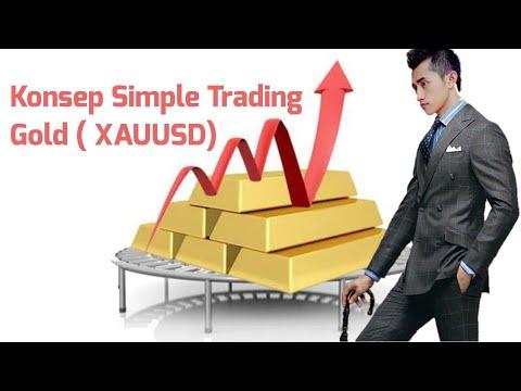 Trading Gold (XAUUSD) siapa takut !!! ( Konsep Mudah mendapatkan uang, trading gold untuk pemula