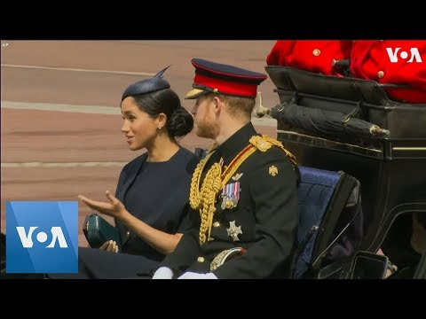 Meghan Markle Attends Queen Elizabeth II's Birthday