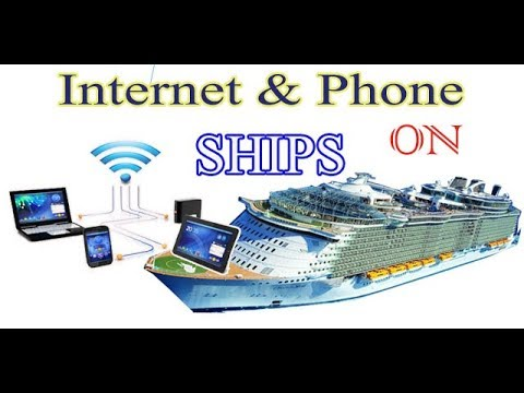 Internet & Phone on Merchant Navy Ships.