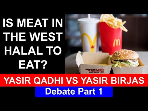 Zabiha (Halal Meat) Debate - Yasir Birjas vs Yasir Qadhi Part 1/2