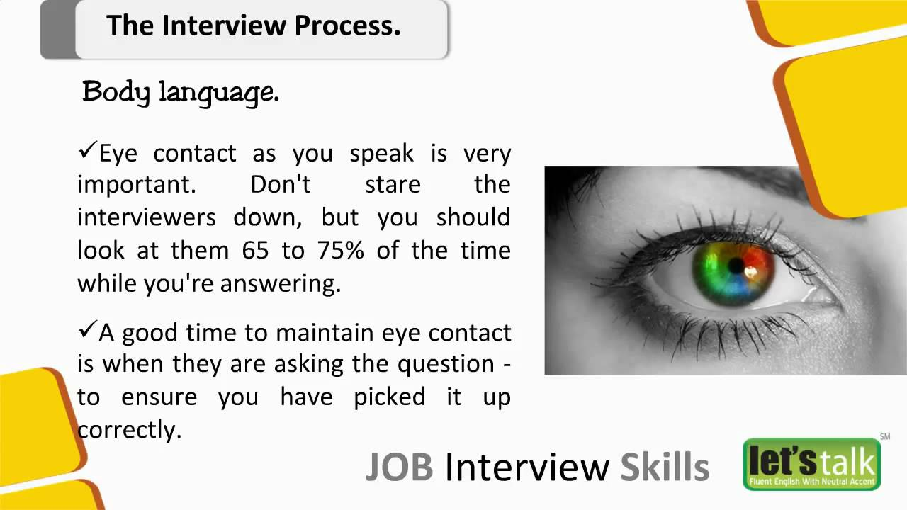 interview skills training part salary negotiation skills interview skills training part 4 2 body language in an interview 2016 10