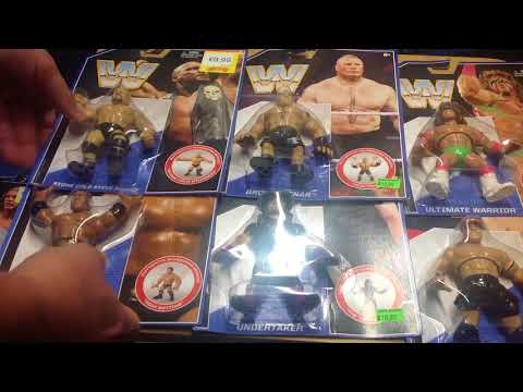 Mattel WWE retro collection series 1 and series 2 pick ups