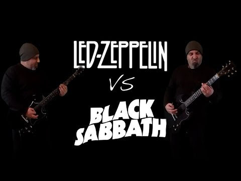 Led Zeppelin VS Black Sabbath (Guitar Riffs Battle)