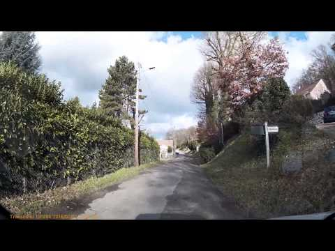 Driving In France - Paris,Highways & Suburbs - 03/02/2016